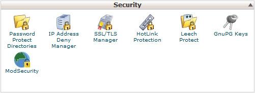 SSL certifikati - nadzorna plošča cPanel